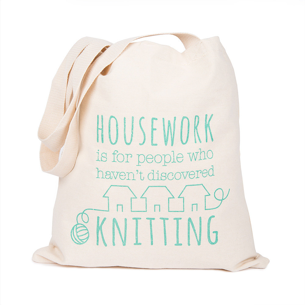 Housework tote bag