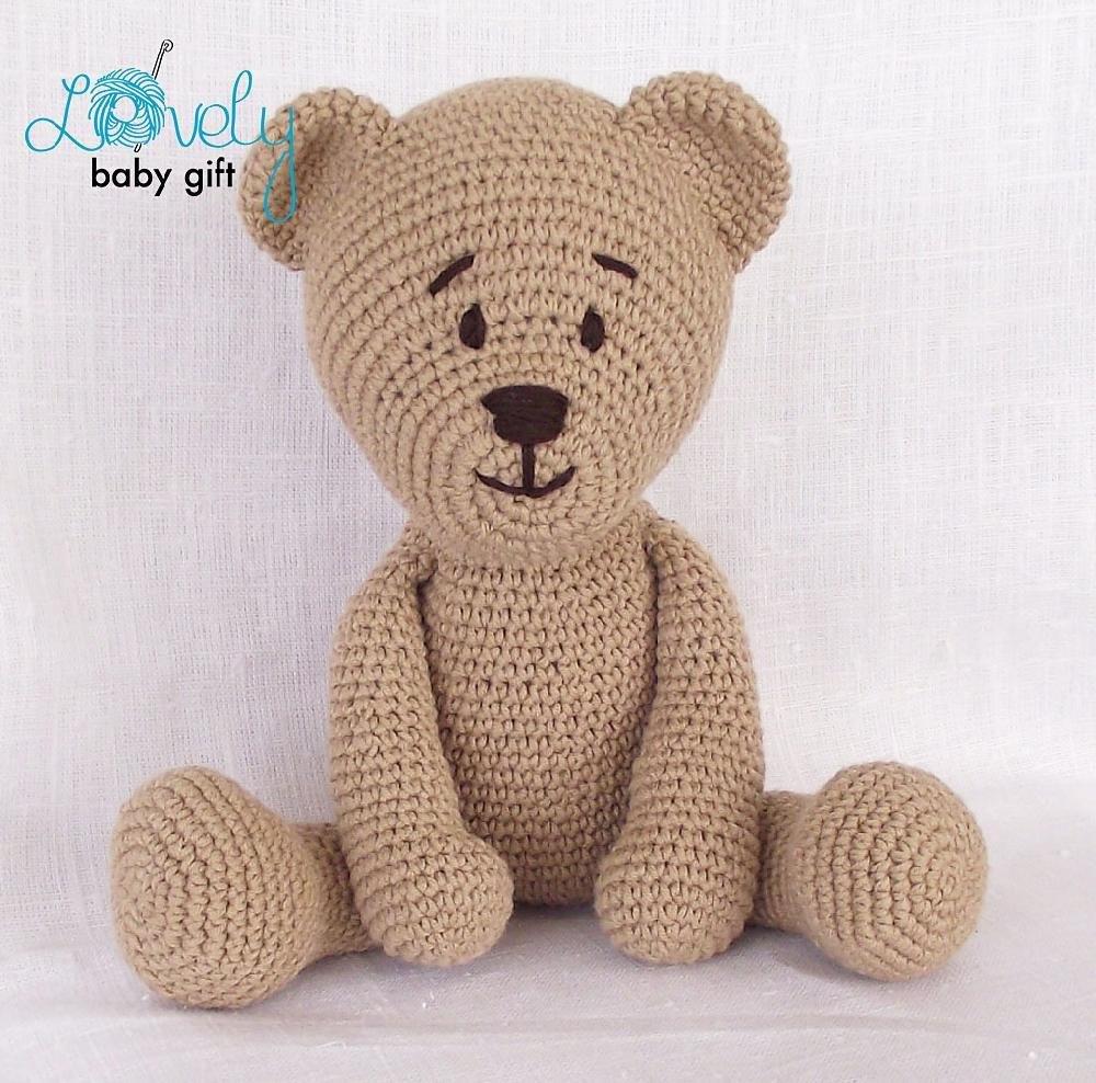 Amigurumi teddy