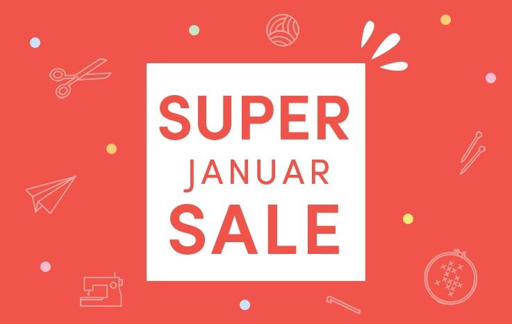 Super Januar Sale!