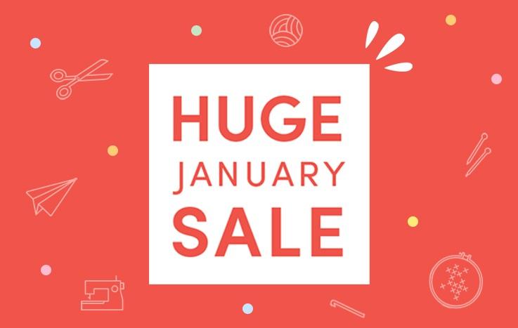 Shop the January Sale