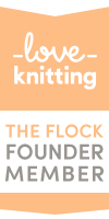 The Flock LoveKnitting Founder Member Badge