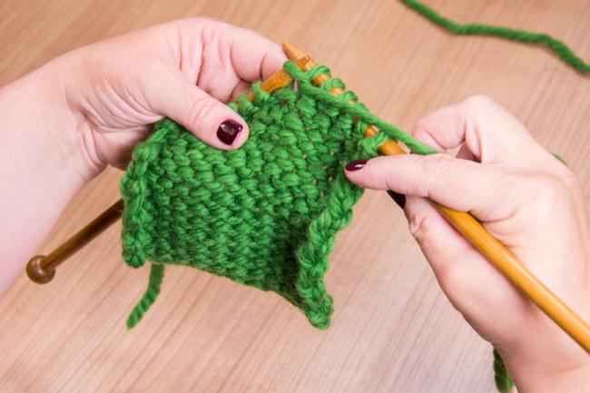 How to work a slip slip knit (ssk) | LoveKnitting